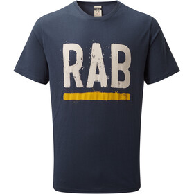 Rab Stance Paint SS Tee Men deep ink